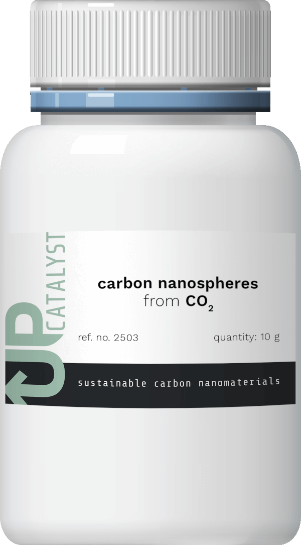 Carbon nanospheres from CO2